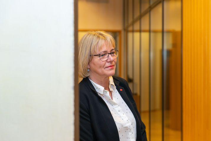 Oddný Harðardóttir, þingmaður Samfylkingarinnar.