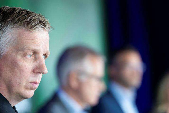 Víðir Reynisson, yfirlögregluþjónn hjá almannavarnadeild ríkislögreglustjóra.