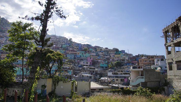 Frá höfuðborg Haítí, Port-au-Prince. Myndin tengist fréttinni ekki beint.