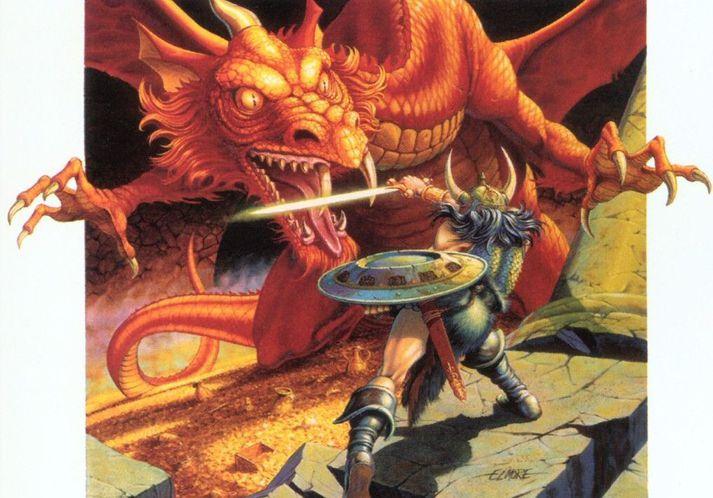 Leikararnir ætla að sökkva sér í ævintýraheim Dungeons and Dragons.