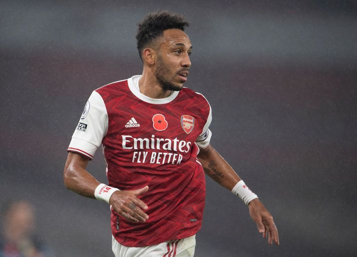 Pierre-Emerick Aubameyang er klár í slaginn með Arsenal um helgina.