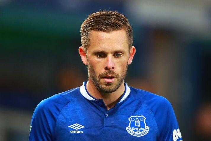 Gylfi Þór Sigurðsson er í lykilhlutverki hjá Everton.