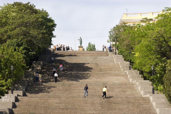 Frá borginni Odessa í Úkraínu.