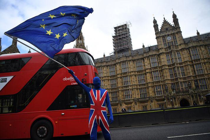 Brexit er enn sjóðandi heitt umræðuefni í Bretlandi.