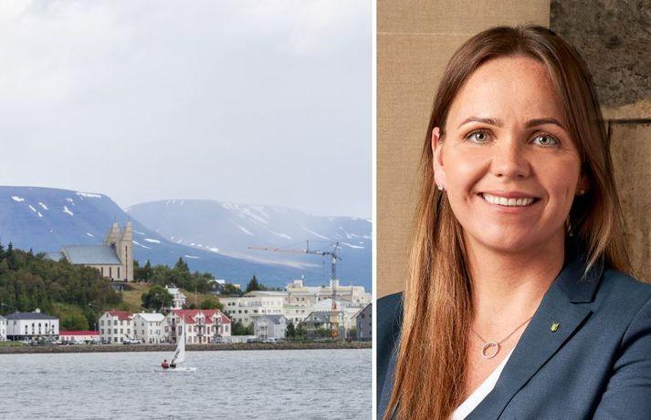 Ingibjörg Ólöf Isaksen leiddi Framsókn til stórsigurs í Norðausturkjördæmi.