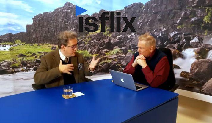 Lifandi umræða á Hrafnaþingi, sem að sjálfsögðu verður aðgengilegt á Ísflix.