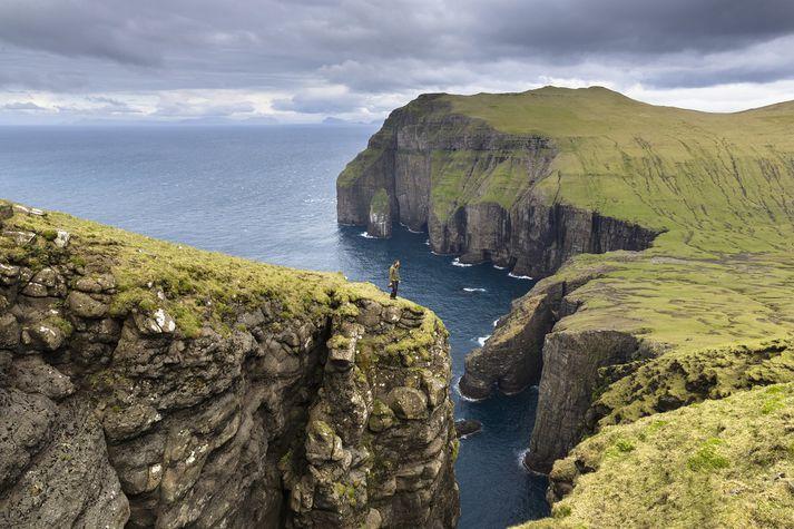 Ásmundarstakkur á Suðurey.