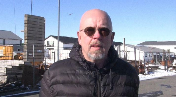 Jóhann Óli Hilmarsson, fuglafræðingur og mikill áhugamaður um hrafna.