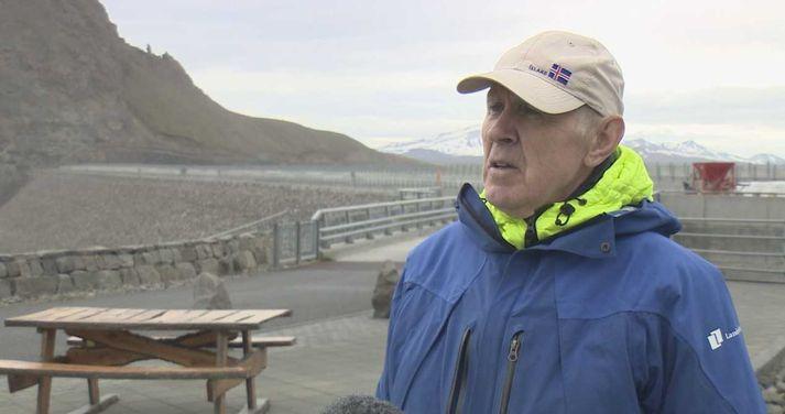 Þórhallur Pálsson, leiðsögumaður Landsvirkjunar við Kárahnjúka.
