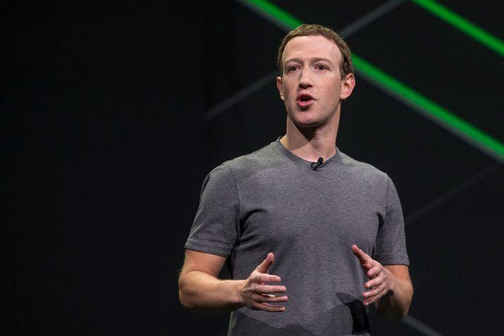 Mark Zuckerberg er stofnandi Facebook.