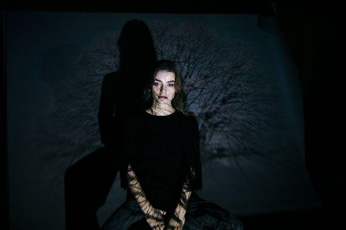 Eydís Helena Evensen er einstaklega efnilegt tónskáld en hún hefur spilað á píanó frá því í barnæsku.