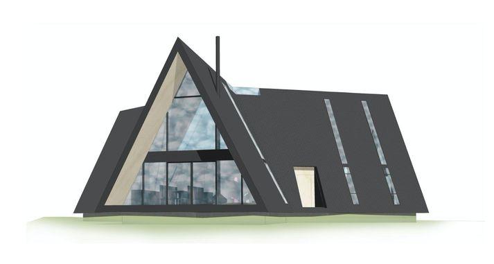 Heimilið sem Andrea Eyland og Þorleifur Kamban byggja á landareigninni Kambastaðir í sveitafélaginu Ölfusi.