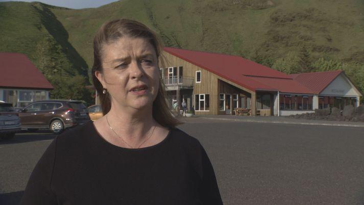 Anna Huld Óskarsdóttir, hótelstjóri á Hótel Kötlu á Höfðabrekku, austan Víkur.
