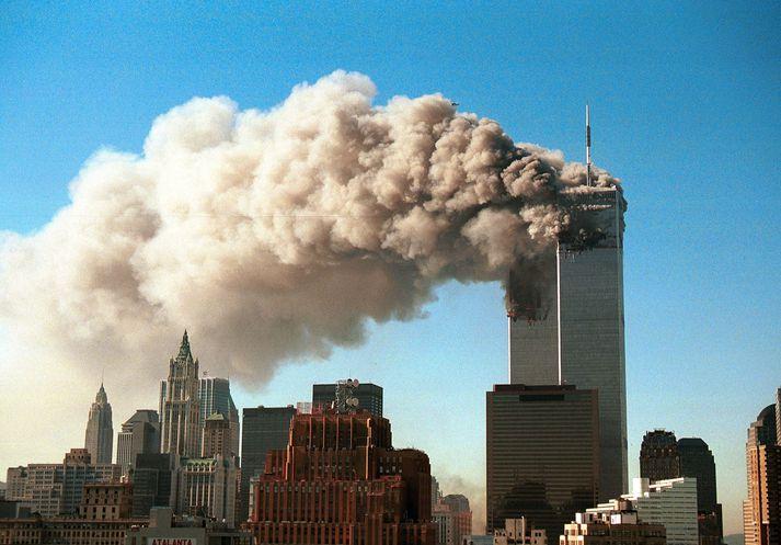 Það styttist í að nákvæmlega tuttugu ár séu liðin frá árásánum 11. september 2001.