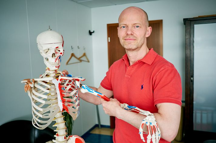 Haraldur Magnússon osteópati.