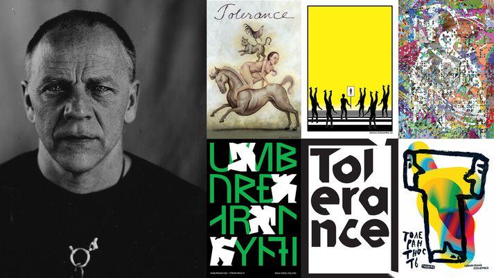 Tolerance Project listamannsins Mirko Ilic verður sýnt á HönnunarMars í ár.