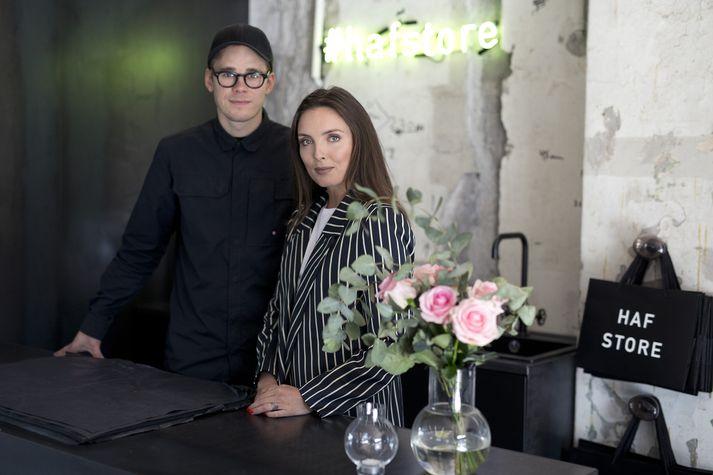 Karítas Sveinsdóttir og Hafsteinn Júlíusson hjá HAF Studio.
