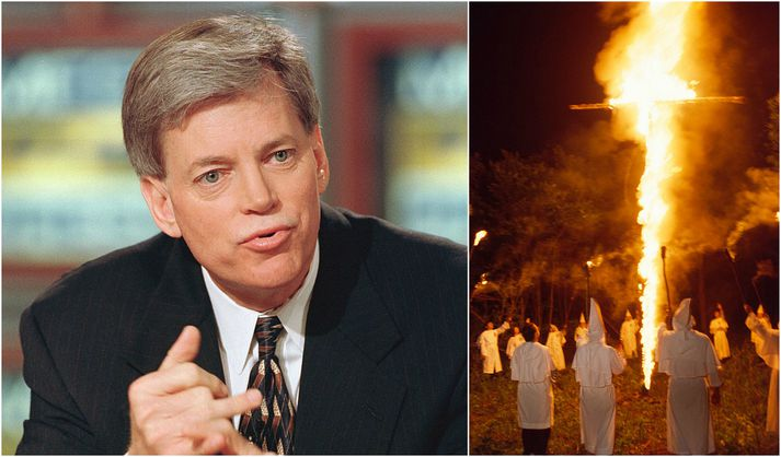 David Duke er fyrrum leiðtogi Ku Klux Klan. Hann segir atburði dagsins marka straumhvörf fyrir landsmenn.