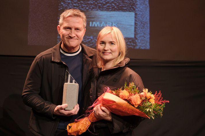 Hjónin Bjarney Harðardóttir og Helgi Rúnar Óskarsson hafa staðið fyrir endurskipulagningu á rekstri 66°Norður.