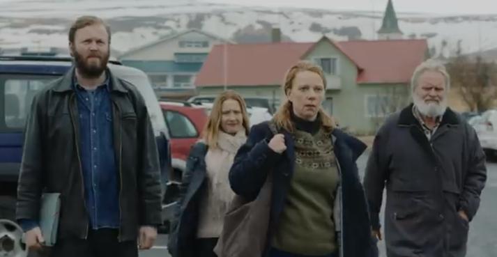 Arndís Hrönn Egilsdóttir fer með aðalhlutverkið í Héraðinu.