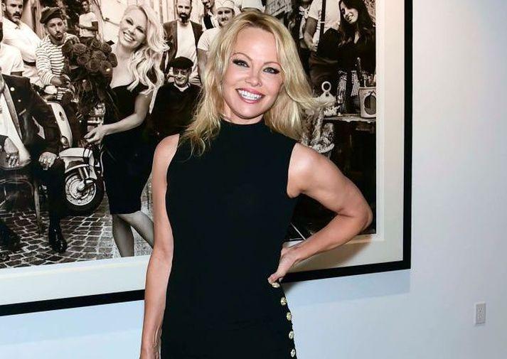 Pamela Anderson í Los Angeles í júní árið 2019.