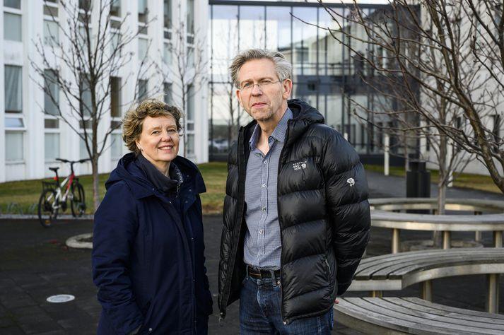 Steinunn Hrafnsdóttir og Ómar H. Kristmundsson.