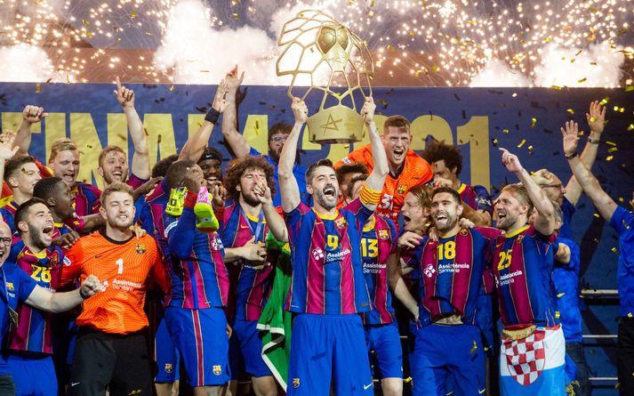 Barcelona vann sinn 10. Evróputitil í sögunni í dag.