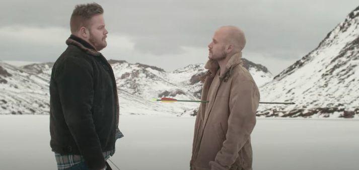 Helgi Sæmundur og Gauti í eina sæng í nýju lagi.