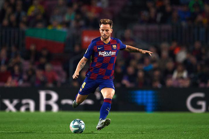 Rakitic hefur fjórum sinnum orðið spænskur meistari með Barcelona.