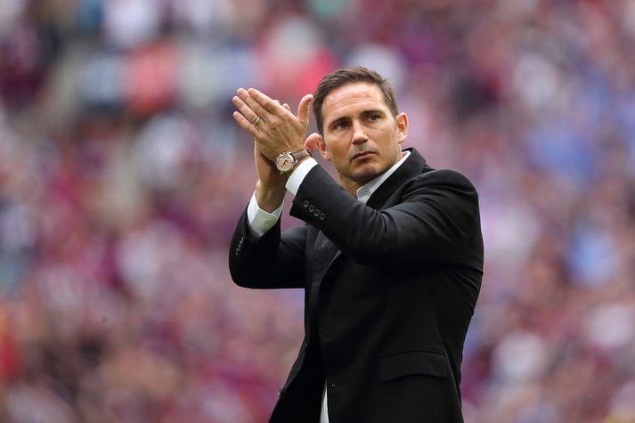 Lampard verður væntanlega næsti knattspyrnustjóri Chelsea.