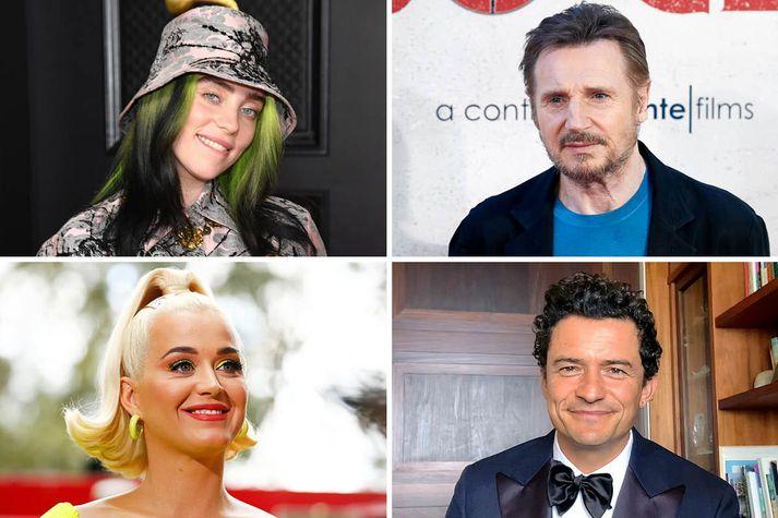 Velgjörðasendiherrar UNICEF sendu opið bréf til efnameiri ríkja heims. Billie Eilish, Liam Neeson, Katy Perry og Orlando Bloom eru á meðal þeirra sem skrifa undir áskorunina.