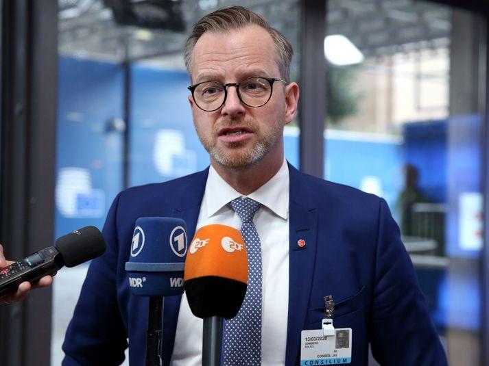 Mikael Damberg er innanríkisráðherra Svíþjóðar.