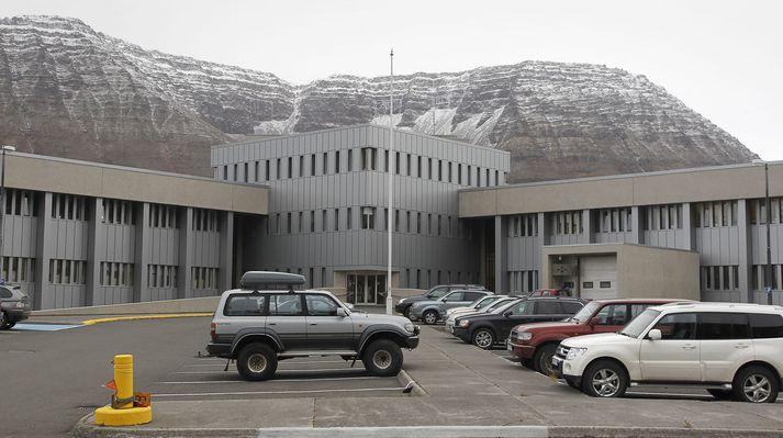 Fjórðungssjúkrahúsið á Ísafirði sem heyrir undir Heilbrigðisstofnun Vestfjarða.
