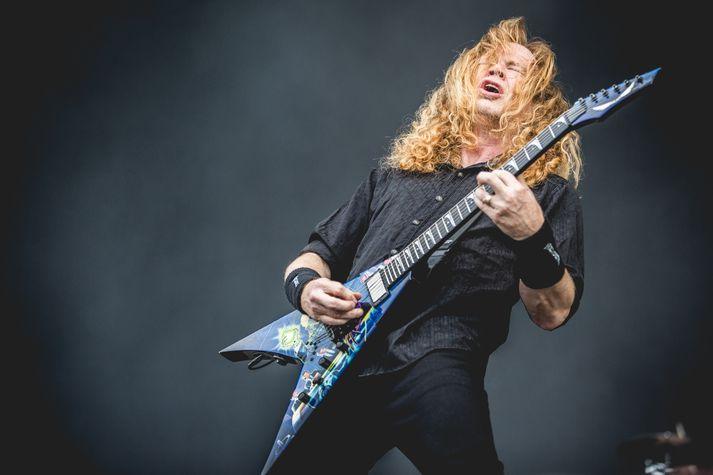 Dave Mustaine stofnandi Megadeth segist alvanur því að takast á við mótlæti.