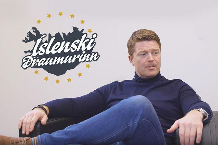 Sigmar Vilhjálmsson hefur komið víða við á sínum viðskiptaferli og lætur allt flakka í fyrsta þætti hlaðvarpsins Íslensku Draumurinn.