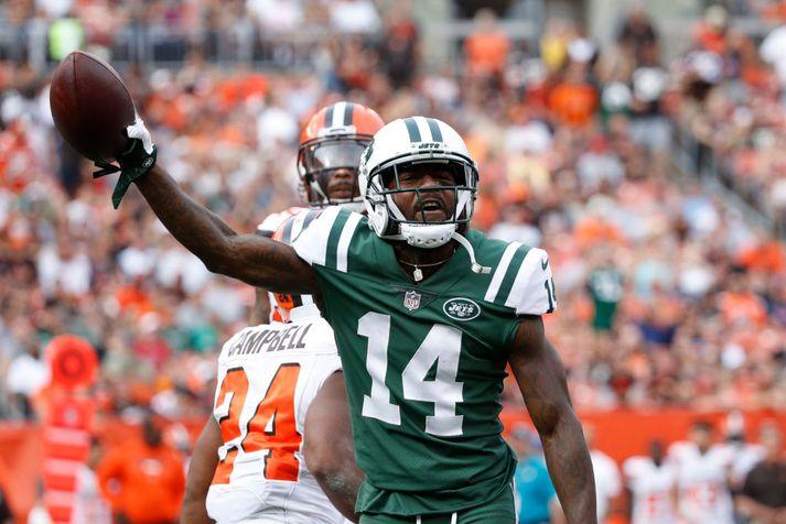 Kerley í leik með Jets.