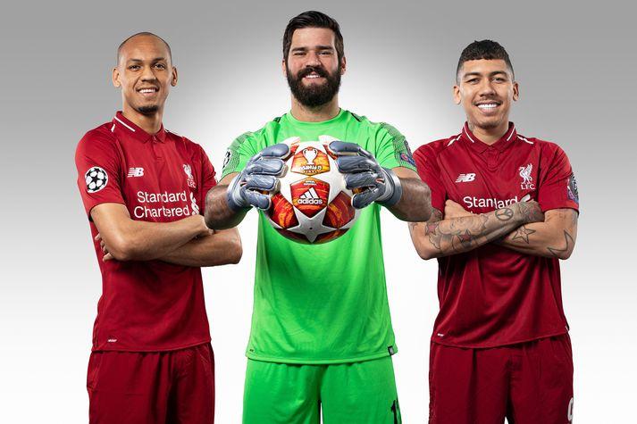 Þessir þrír verða ekki með Liverpool um helgina.