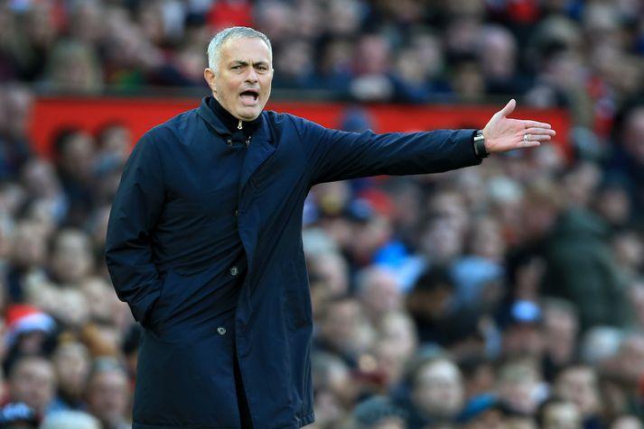 Mourinho í leiknum umdeilda.
