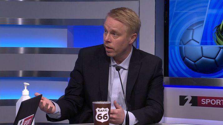 Einar Jónsson var gestur Seinni bylgjunnar í gærkvöldi.