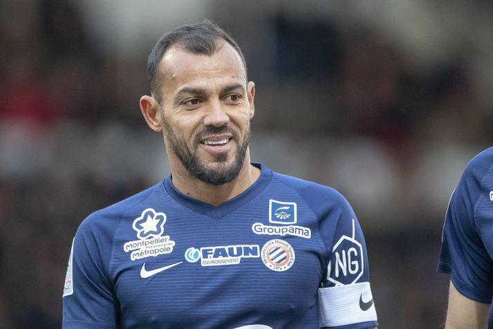 Vitorino Hilton er fyrirliði Montpellier liðsins en hann er nýbúinn að halda upp á 43 ára afmælið sitt.