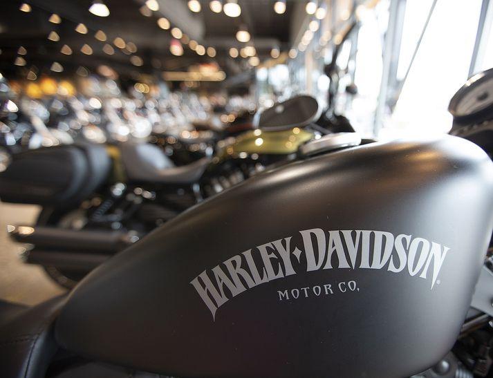 Harley-Davidson er einn þekktasti mótorhjólaframleiðandi heims.