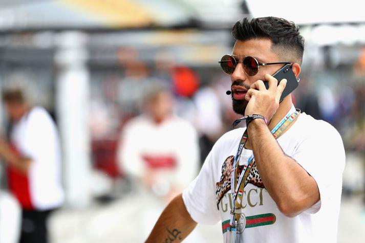 Aguero á Formúlu 1 keppni helgarinnar.