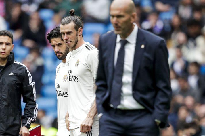 Bale og Zidane.