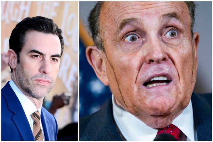 Rudy Giuliani var valinn versti aukaleikari þessa árs, fyrir hlutverk sitt í myndinni Borat Subsequent Moviefilm.