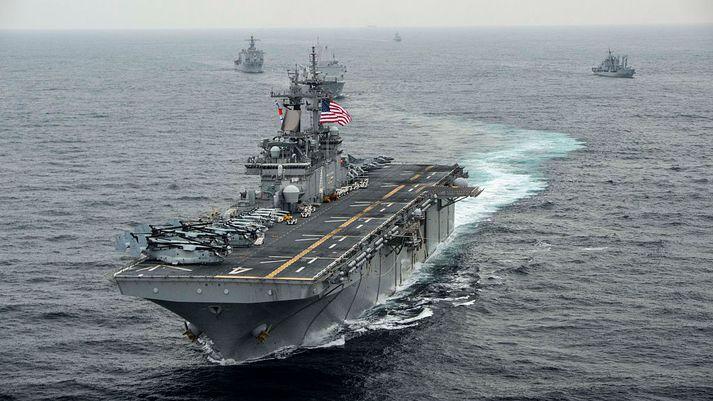 USS Boxer.