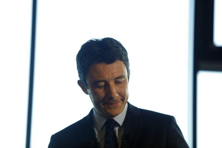 Benjamin Griveaux var áður talsmaður ríkisstjórnar Macron forseta.