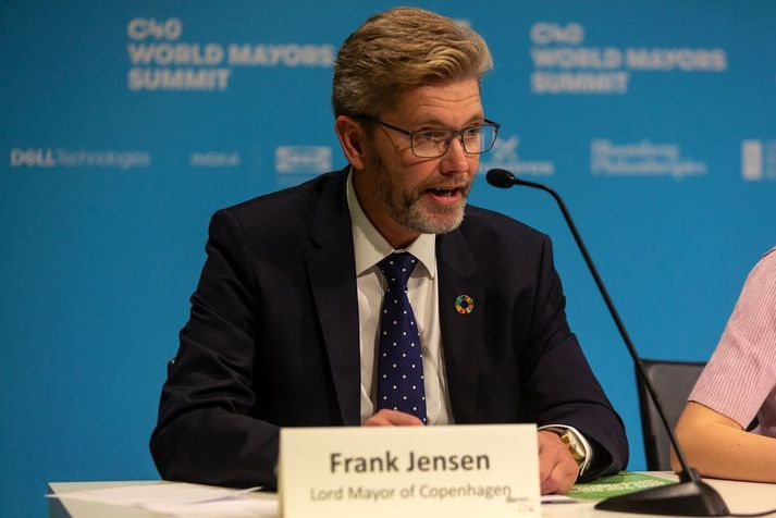 Frank Jensen hefur gegnt embætti borgarstjóra Kaupmannahafnar frá árinu 2010.
