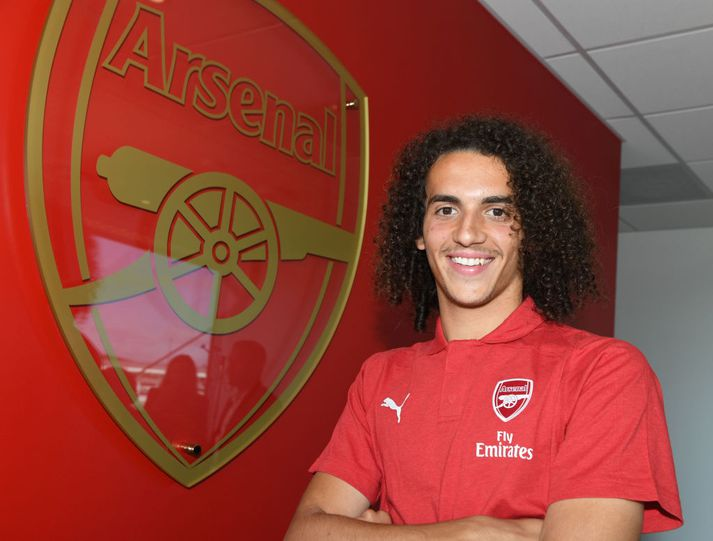 Matteo Guendouzi er mættur til Arsenal.