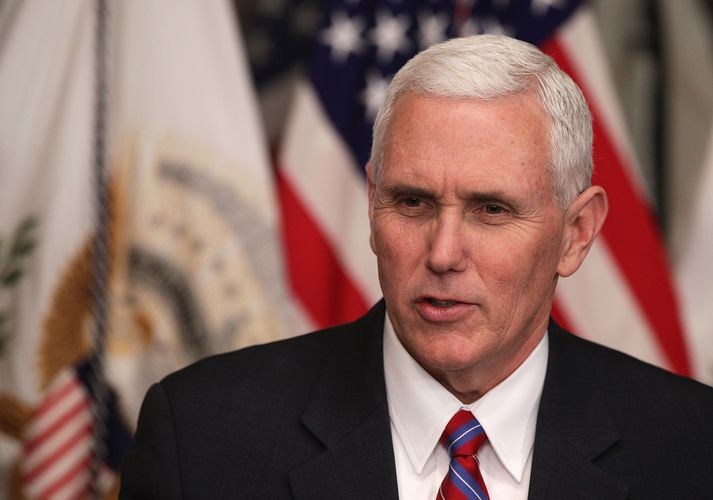 Mike Pence, varaforseti Bandaríkjanna.