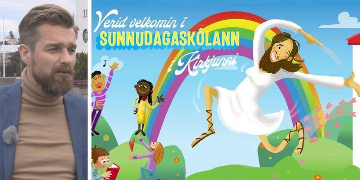 Pétur G. Markan, samskiptastjóri Þjóðkirkjunnar, segir að viðbrögðin hafi verið eftir væntingum. Einhverjir fagni og á meðan aðrir séu reiðir.